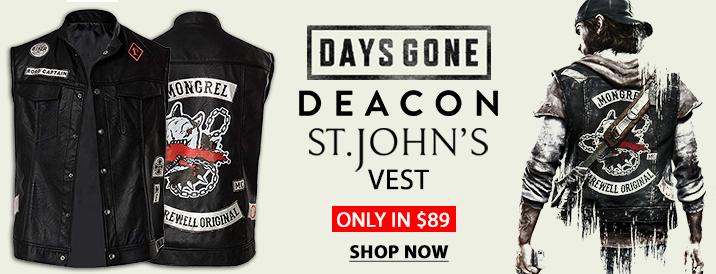 Deacon-St.-John-Days-Gone Vest
