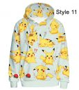 Feelincolor Detective Pikachu Hoodie for Men and Women