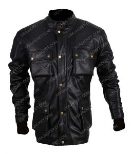 Jack Bauer Black Leather Jacket