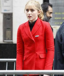 Pokemon Detective Pikachu Kathryn Newton Red Jacket