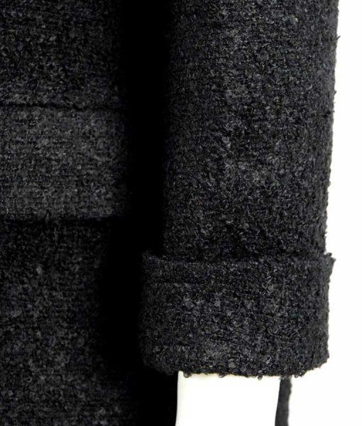 Millie Bobby Brown Eleven Black Coat
