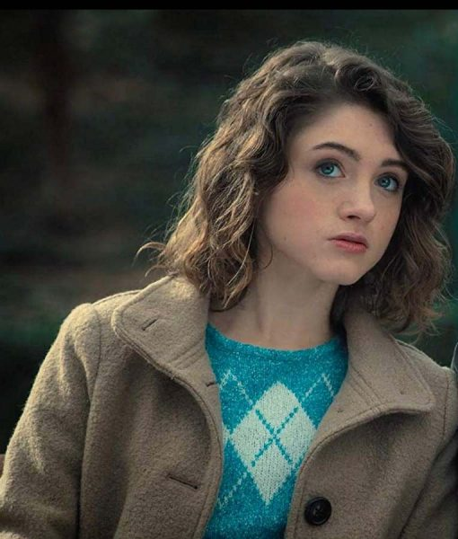 Natalia Dyer Stranger Things Coat