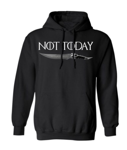Not Today knife Hoodie