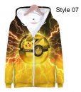 Pikachu 3D Print hoodie