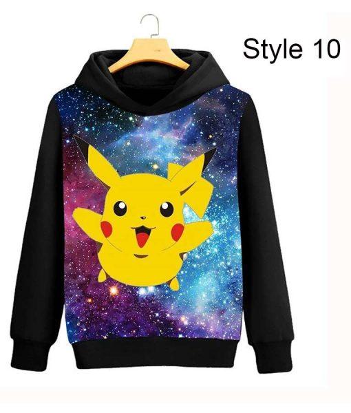 Pikachu Sweatshirt Hoodie