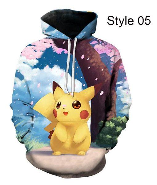Pokemon Pikachu Hoodie Style 06