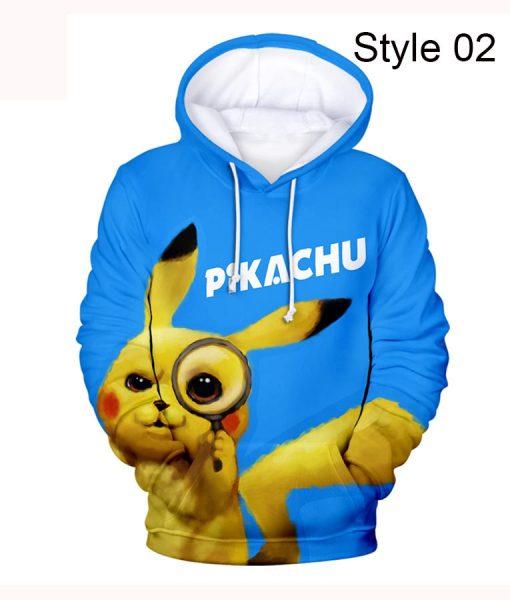 Pokemon Detective Pikachu Hoodie
