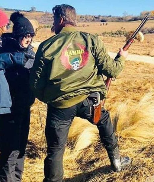Rambo 5 Bomber jacket