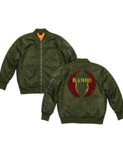 Rambo 5 Last Blood Green Jacket