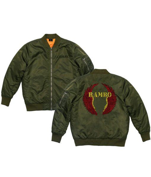 Rambo bomber jacket