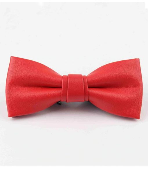 Red-Leather-BowTie