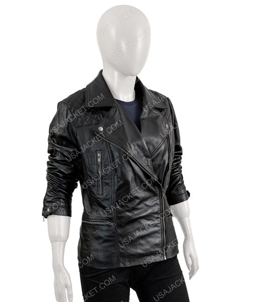 Ruby Rose Biker Leather Jacket