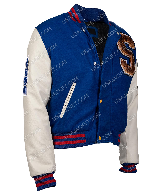 Sonic The Hedgehog Jacket Varsity Letterman Style Jacket