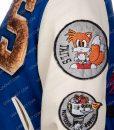 Sonic Hedgehog Varsity Jacket