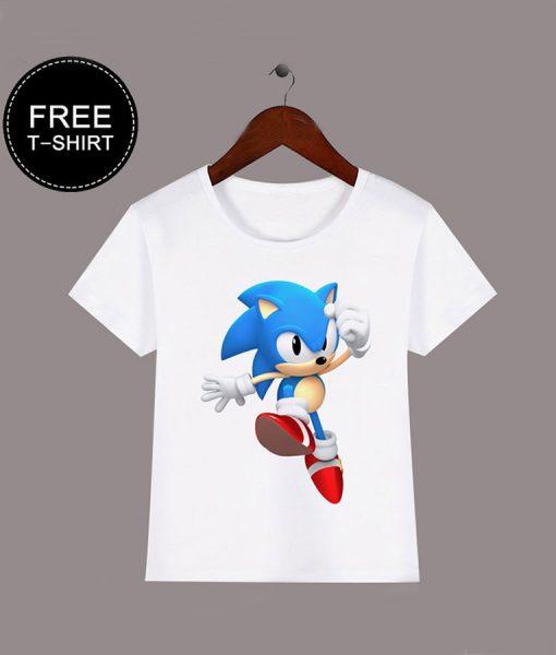 Sonic the hedgehog free T-shirt