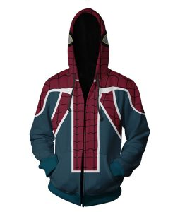Spiderman UK Zipper Hoodie