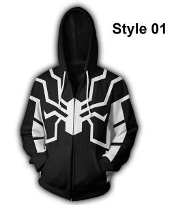 Spiderman Future Foundation Zipper Hoodie