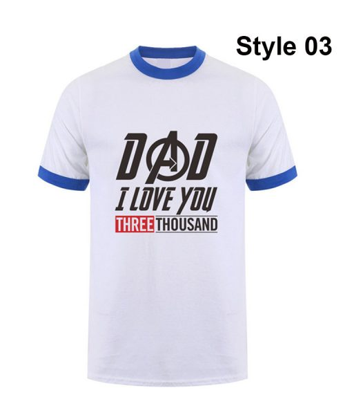 Dad i love you 3000 time t-shirt