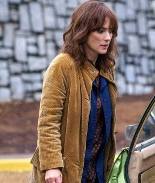 Stranger Things Joyce Byers Corduroy Coat