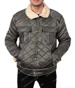 Hunter Killer Gerard Butler Quilted Jacket