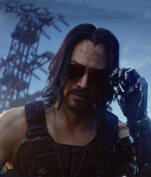Cyberpunk 2077 Black Vest