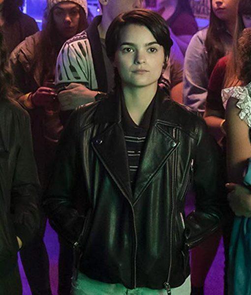 Elodie Davis Leather Jacket