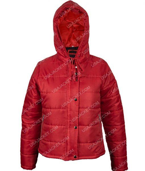 Stella Red Hooded Jacket