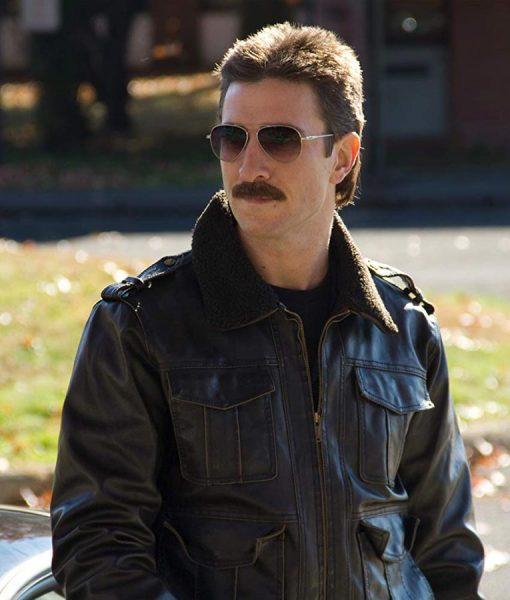 Orange is the new black George Mendez leather Jacket