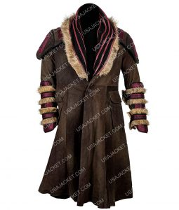 Daniel Wu Shearling Trench Coat