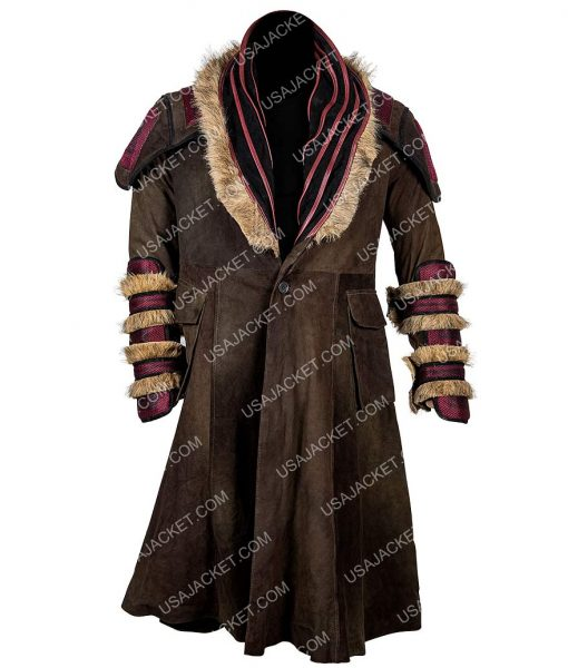 Into The Badlands Shearling Coat