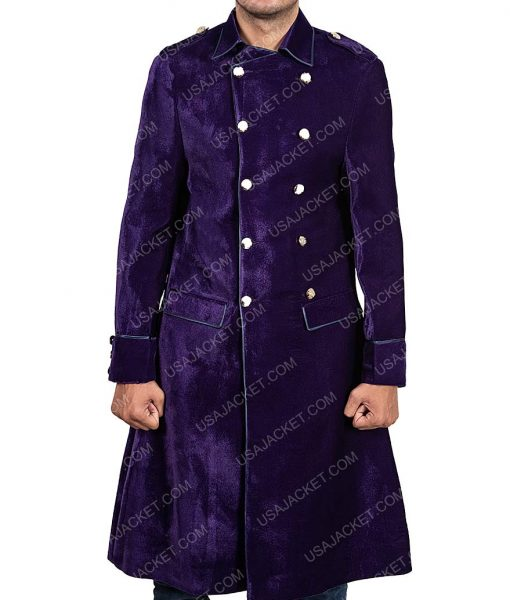 Into The badlands S03 Gaius Chau Purple coat