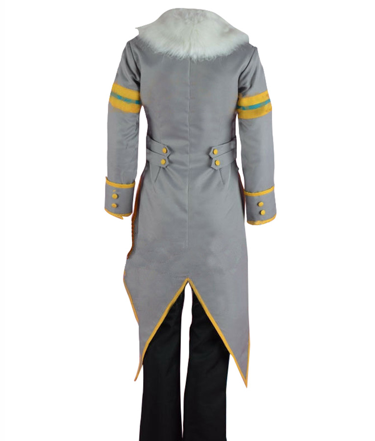 Sonic The Hedgehog Silver The Hedgehog Tail Jacket
