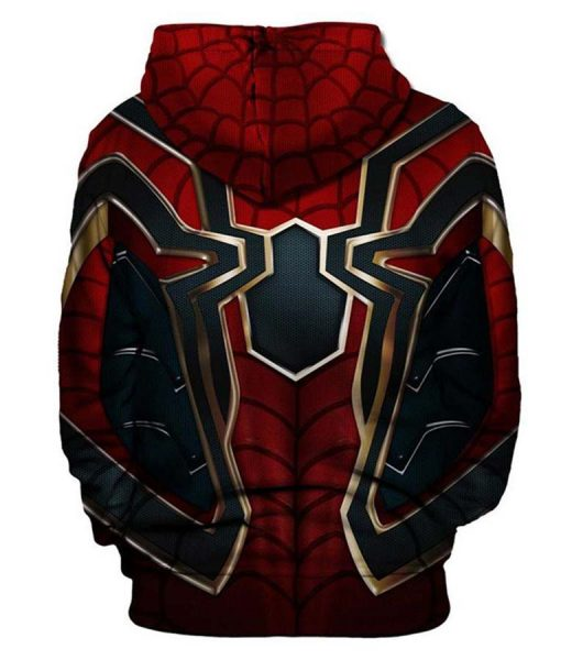 Spider-Man Infinity War Hoodie
