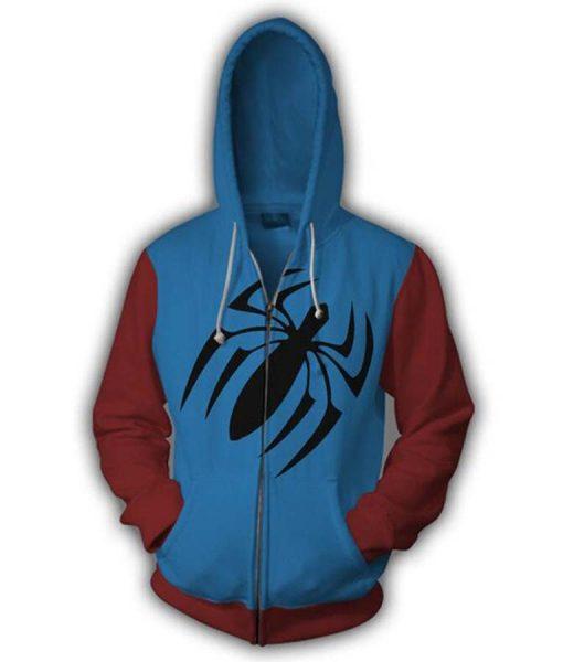 Spiderman Scarlet Hoodie