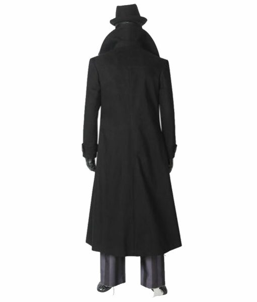 Spider-man Into The Spider-Verse Noir Trench Coat