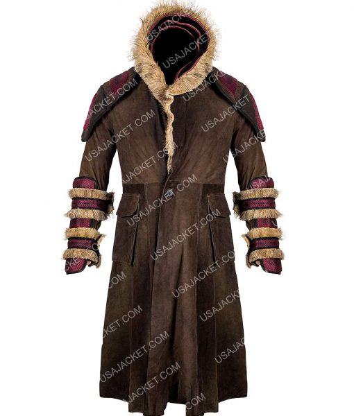 Into The Badlands Sunny Shearling Coat