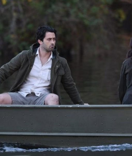Andy Bean Swamp Things Alec Holland Cotton Jacket