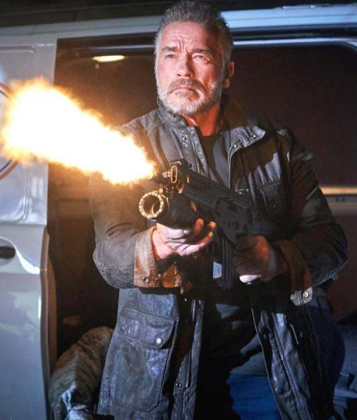 Terminator Dark Fate Leather Jacket