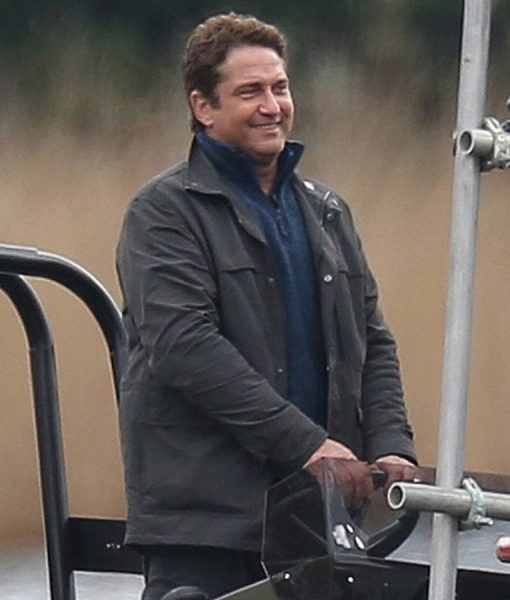 Angel has fallen Gerard Butler cotton jacket