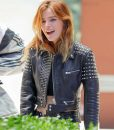 Bella Thorne Studded Jacket