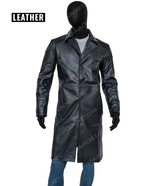 Karl Urban THe Boys Trench Coat