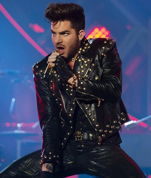 Adam Lambert Studded Jacket