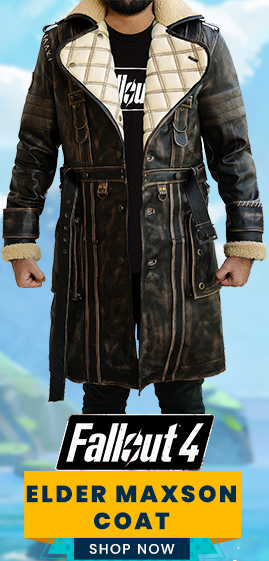 Elder Maxson Brown Fallout 4 Coat