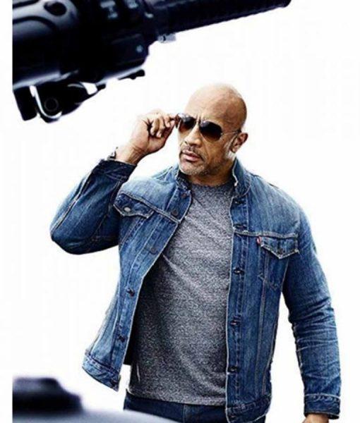 Fast & Furious Presents Hobbs & ShawDwayne Johnson Denim Jacket