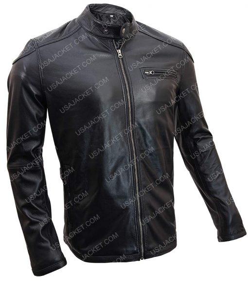Gerard Butler Cafe Racer Jacket