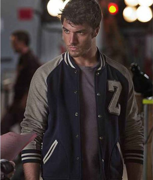 Izombie Cody Zack Peladeau Letterman Jacket
