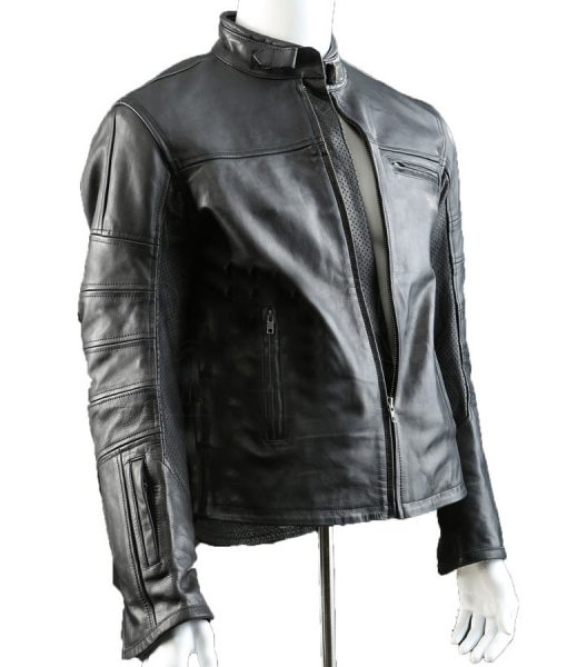 Jason Clarke Terminator John Connor Black Jacket