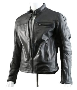 John Connor Black Leather Jacket