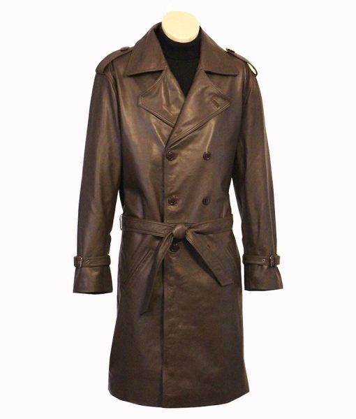 John Shaft 1971 Leather Coat