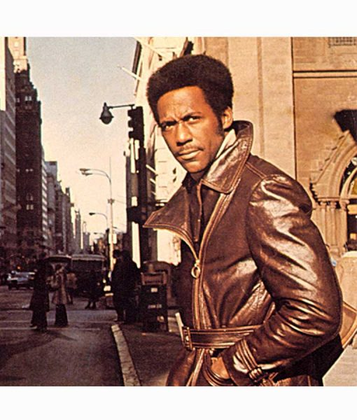 John Shaft 1971 Mid Length Leather Coat